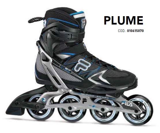 Skates Pattini in Linea Fila PLUME MAN linea Fitness
