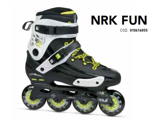 Skates Pattini in Linea Fila NRK FUN linea Free Skate
