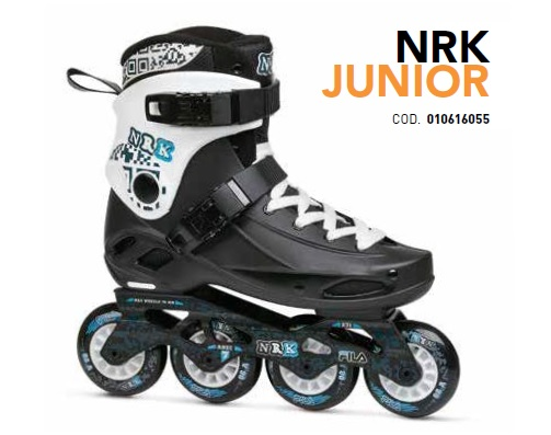 Skates Pattini in Linea Fila NRK JUNIOR linea Free Skate
