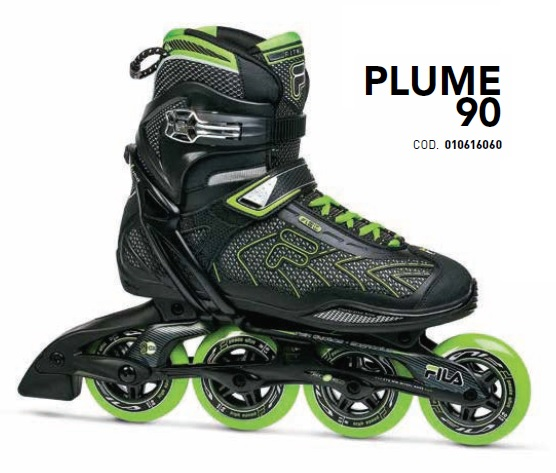 Skates Pattini in Linea Fila PLUME 90 linea Fitness