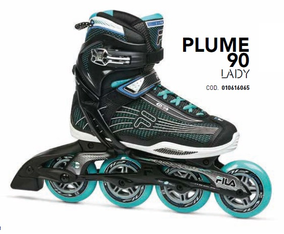 Skates Pattini in Linea Fila PLUME 90 LADY linea Fitness