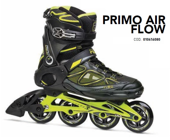Skates Pattini in Linea Fila PRIMO AIR FLOW linea Fitness