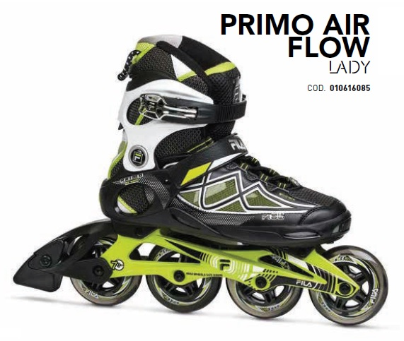 Skates Pattini in Linea Fila PRIMO AIR FLOW LADY linea Fitness