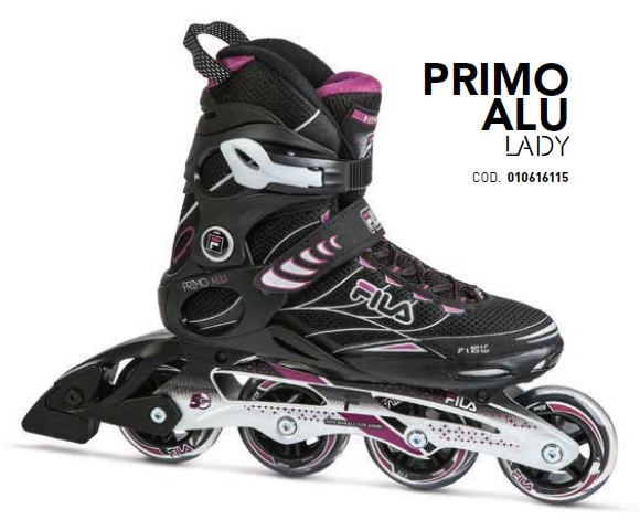 Skates Pattini in Linea Fila PRIMO ALU LADY linea Fitness