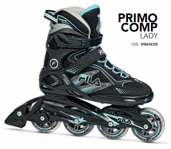 Skates Pattini in Linea Fila PRIMO COMP LADY linea Fitness