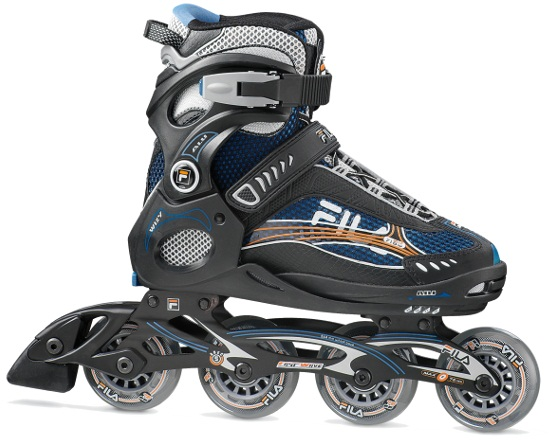 Skates Pattini in Linea Fila WIZY ALU linea Junior