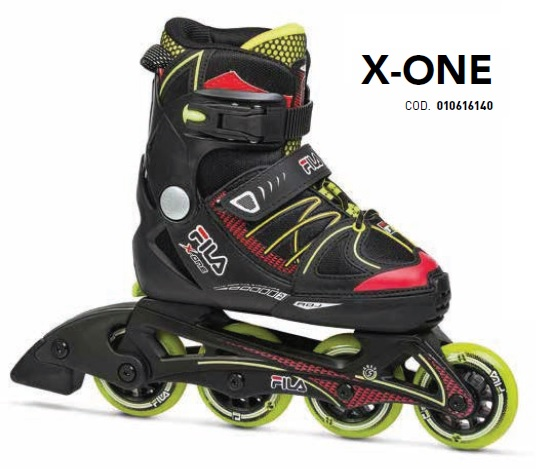 Skates Pattini in Linea Fila X-ONE BOY linea Junior