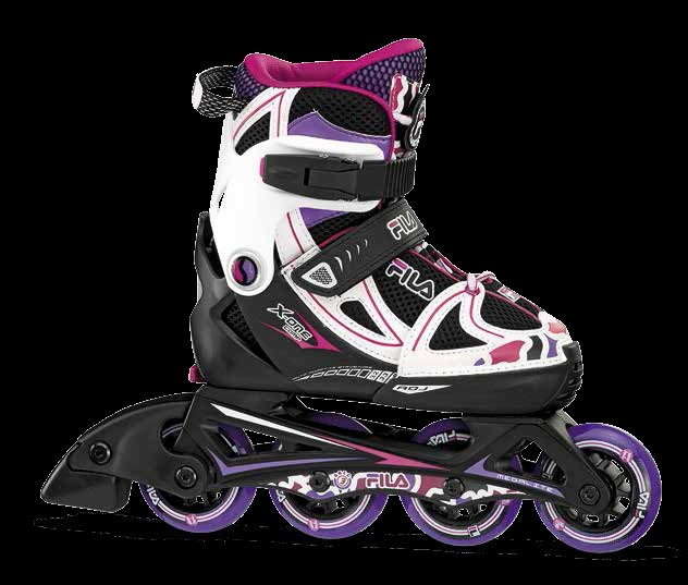 Skates Pattini in Linea Fila X-ONE BOY GIRL linea Junior