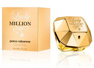 PROFUMO PACO RABANNE LADY MILLION DONNA EAU DE PARFUM ML 80