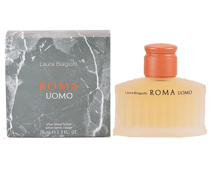 PROFUMO LAURA BIAGIOTTI ROMA UOMO AFTER SHAVE DOPOBARBA ML 75