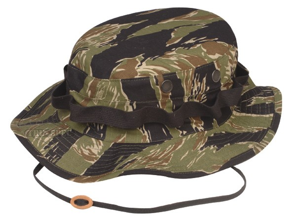 Cappello safari cotone Rip Stop Tiger Stripe