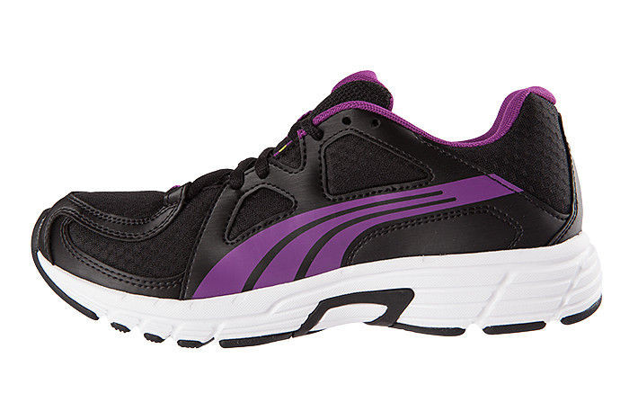 Scarpetta Puma Womens Axis V3 Womans Black-Beetroot Purple TG 37
