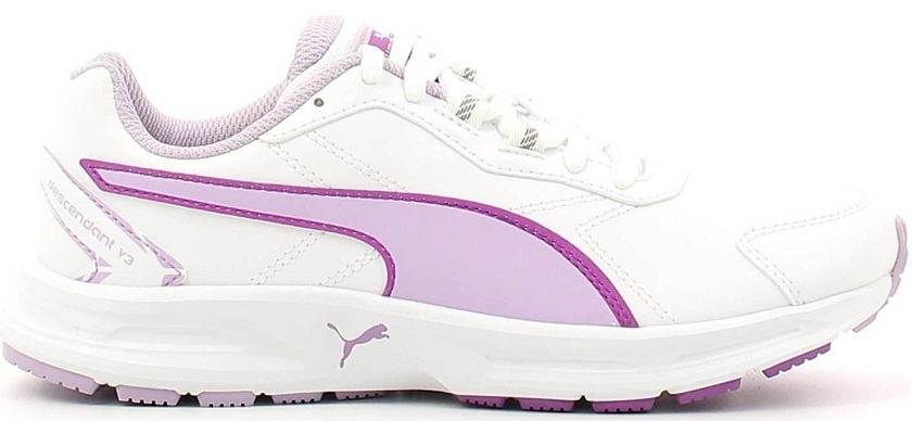 Scarpetta Puma Junior Descendant SL V3 White-Orchid Bloom TG 37.5,38.5