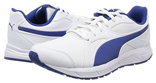 Scarpetta Puma Junior Axis V4 SL Puma White-Limoges