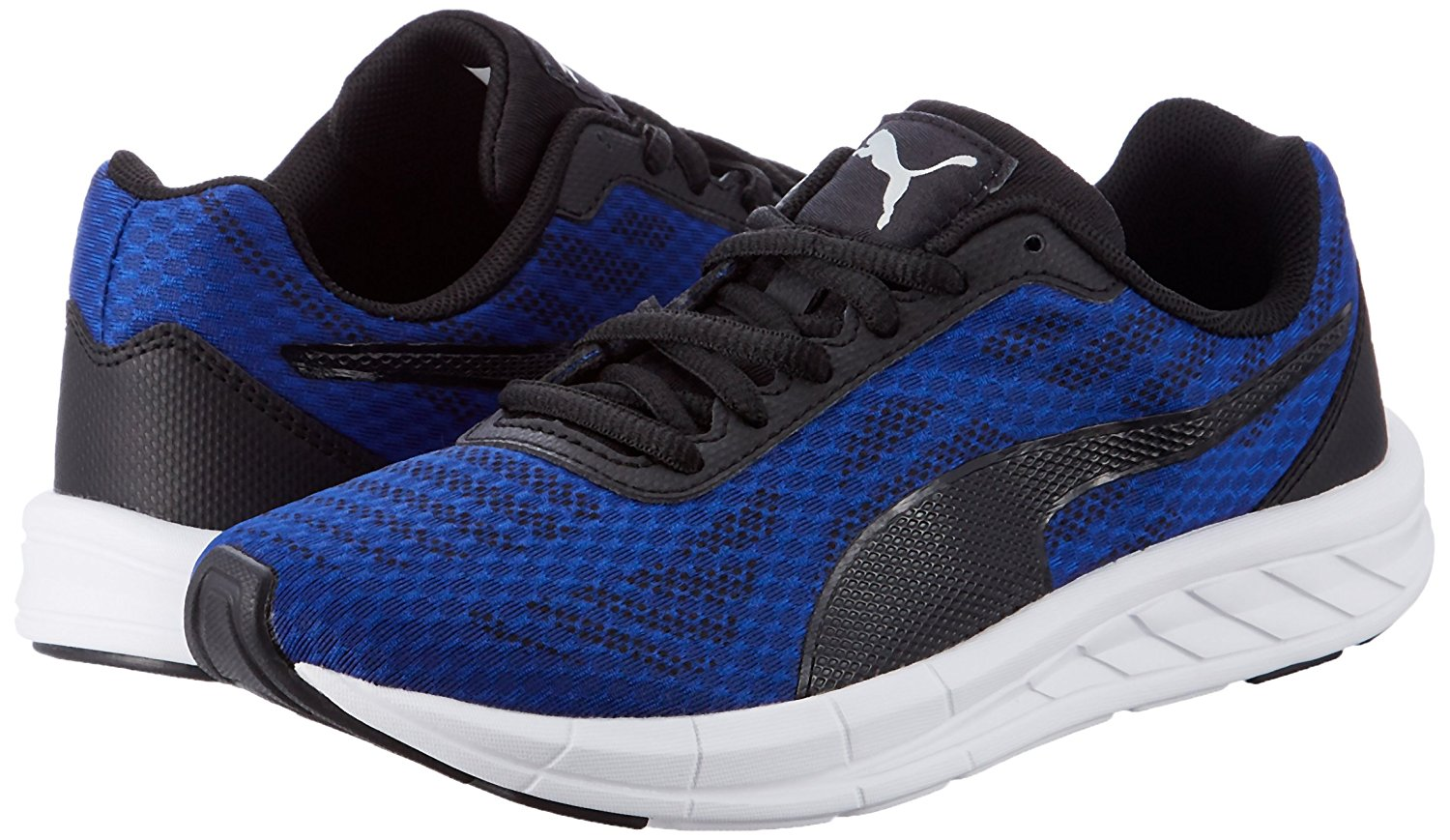 Scarpetta Puma Junior Meteor True Blue-Puma Black TG 39