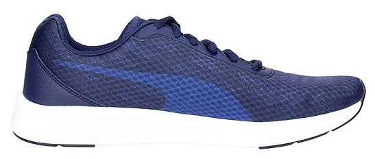 Scarpetta Puma Mens Meteor LP Peacoat-True Blue-Puma White