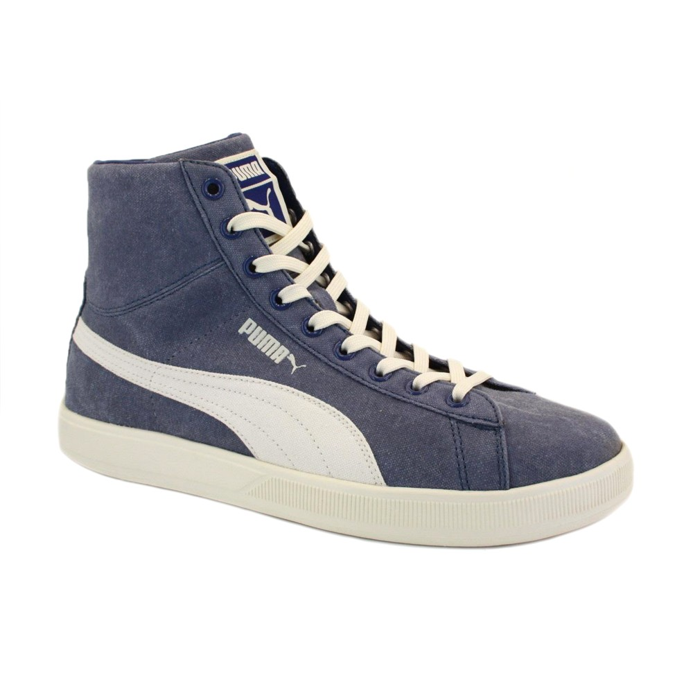 Scarpa Puma Adults Archive LiteMid WashCan RT Twilight Blue-Whisper White TG 40