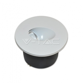 3W LED StepLight Round 3000K