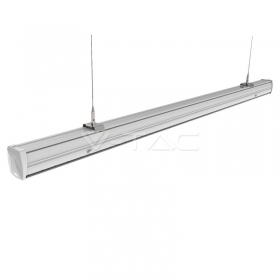 50W LED Linear Master Trunking Double Asymmetrick Lens 4000K