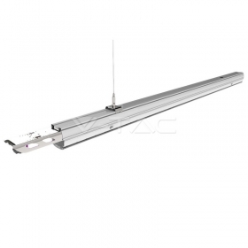 50W LED Linear Follow Trunking Double Asymmetrick Lens 4000K