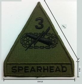 PATCH TOPPA ESERCITO MILITARE MARINA SOFTAIR CACCIA TIPO SPEARHEAD