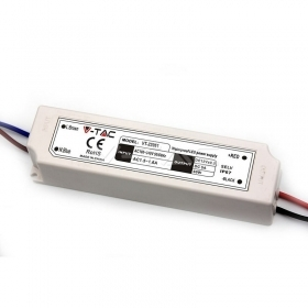 LED Plastic SLIM Power Supply - 60W 12V IP67