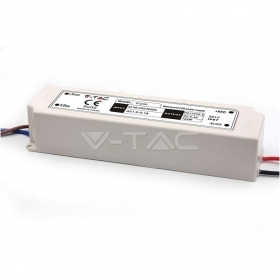 LED Plastic SLIM Power Supply - 100W 12V IP45