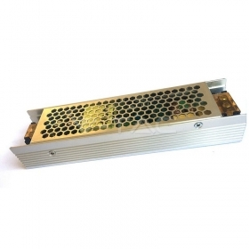 LED Slim Power Supply - 120W 12V 10A Metal