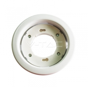 GX52 Fitting Round White