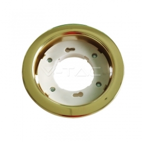 GX52 Fitting Round Gold