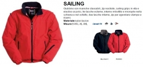 Giubbino SAILING Nylon Taslan e interno in pile
