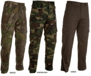 Pantalone U.S. Air in cotone 100% multitasche e zip a fondo gamba