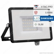 30W LED Floodlight SMD SAMSUNG CHIP Black Body 4000K