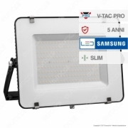 200W LED Floodlight SMD SAMSUNG CHIP Black Body 4000K