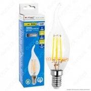 LED Bulb - 4W Filament  E14 Candle Tail 2700K Dimmable