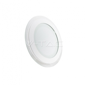 18W LED Panel Downlight Glass