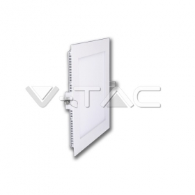 8W LED Panel Downlight - Square 6000K    100Lm/W            W/O Driver