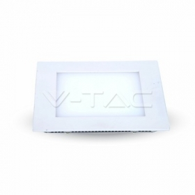 15W LED Panel Downlight - Square 3000K  100Lm/W          W/O Driver