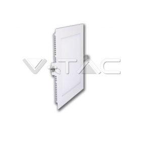 12W LED Premium Panel Downlight - Square 6400K