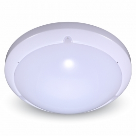 16W Dome LED Light With Sensor Microwave 4000K