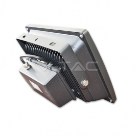 70W LED Floodlight V-TAC Classic PREMIUM Graphite Body SMD - 3000K