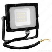 10W LED Floodlight Black Body SMD 6000K