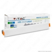 20W LED Linear Light White 4000K - NEW
