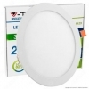 30W LED Panel Light Round 6400K