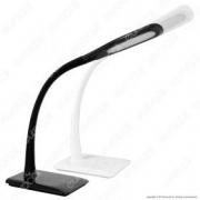 7W LED Desk Lamp  4000K Black Body