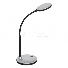 5.5 LED Table Lamp 4000K Silver