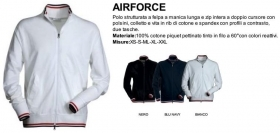 Polo AIRFORCE  manica lunga st