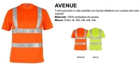 T-Shirt AVENUE girocollo manic