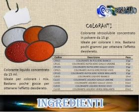 COLORANTE PER PESCA LIQUIDO BIANCO 15 ml