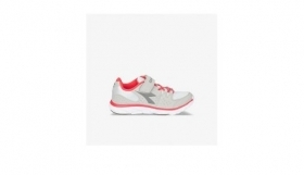 Scarpetta Diadora Hawk 8 JR Gray Rock-Hot Coral TG 32,38